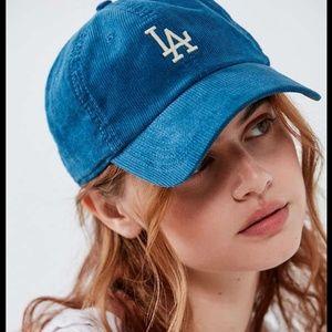 LA Dodgers American Needle Corduroy Baseball Hat